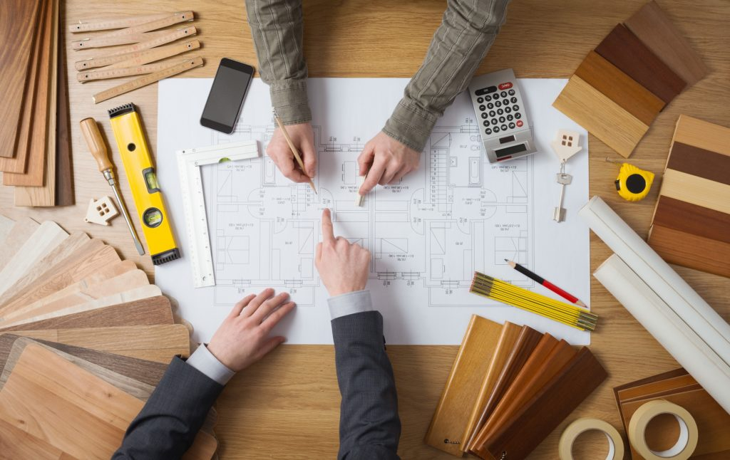 remodelling planning of house