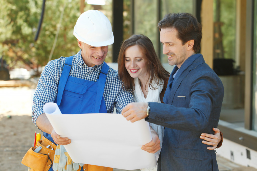 contractor and clients
