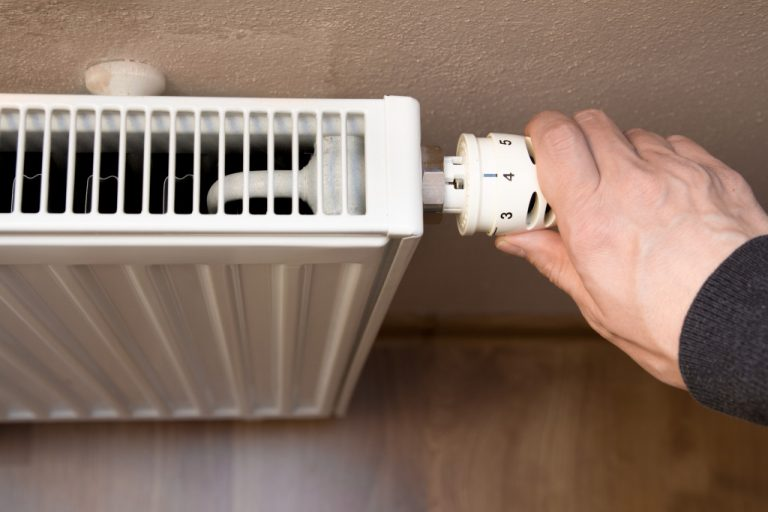 adjusting heater