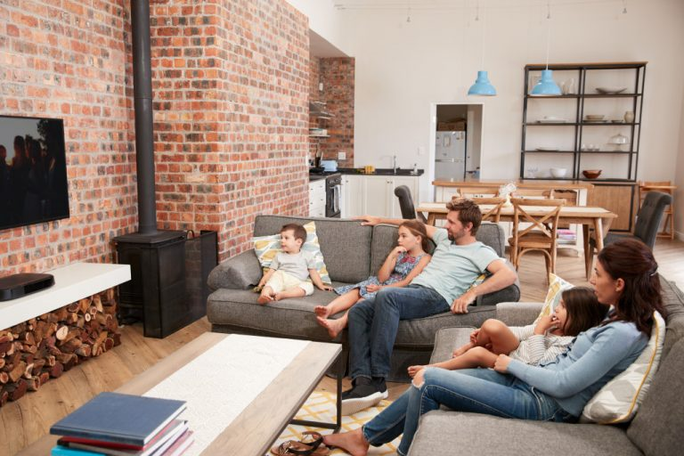 people chilling inside a house